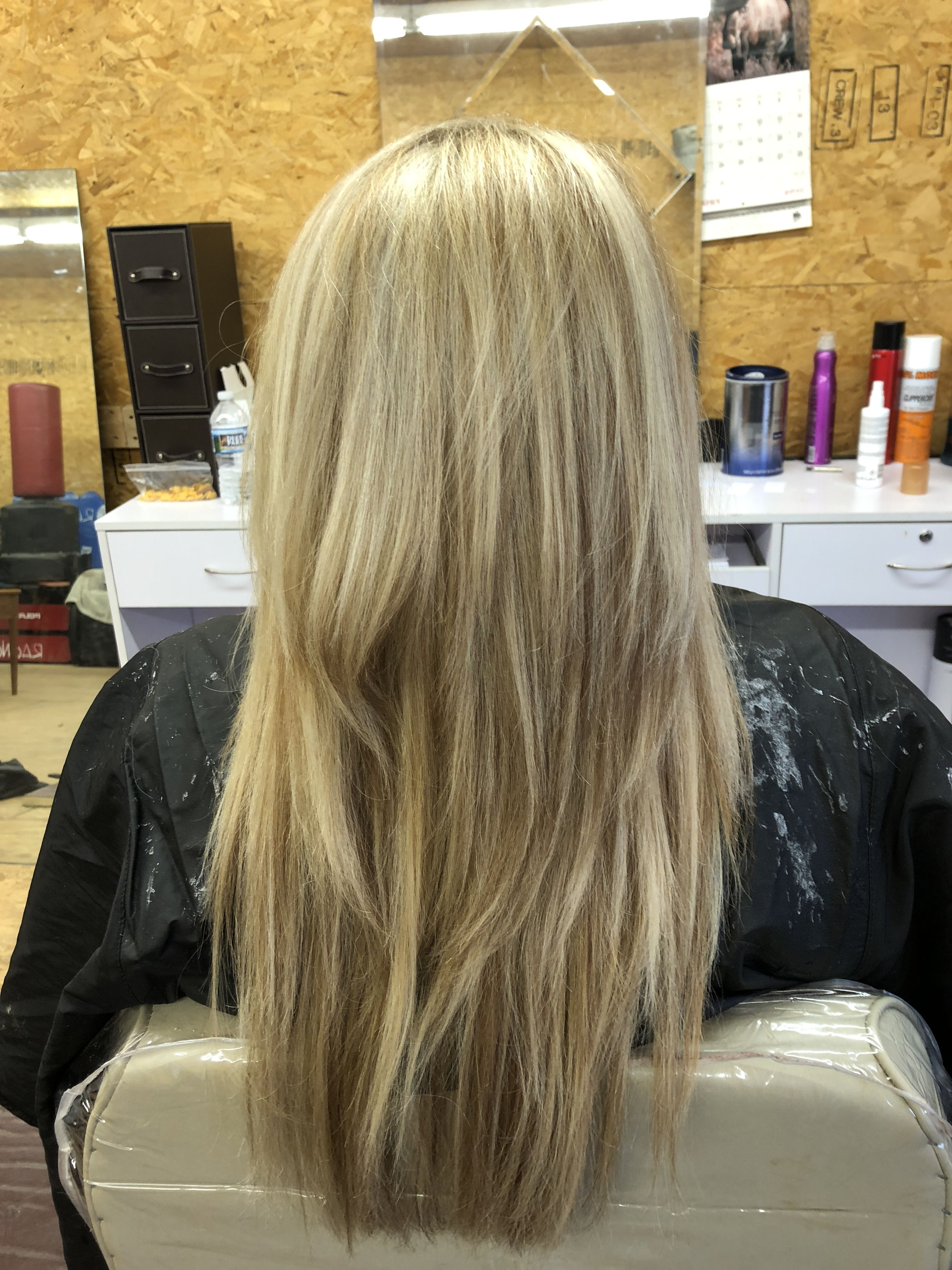 Spring Summer Ready Blonde Done By Michala Holland At Brick House Hair Salon Long Hair Styles Hair Beauty Highlights And Lowlights