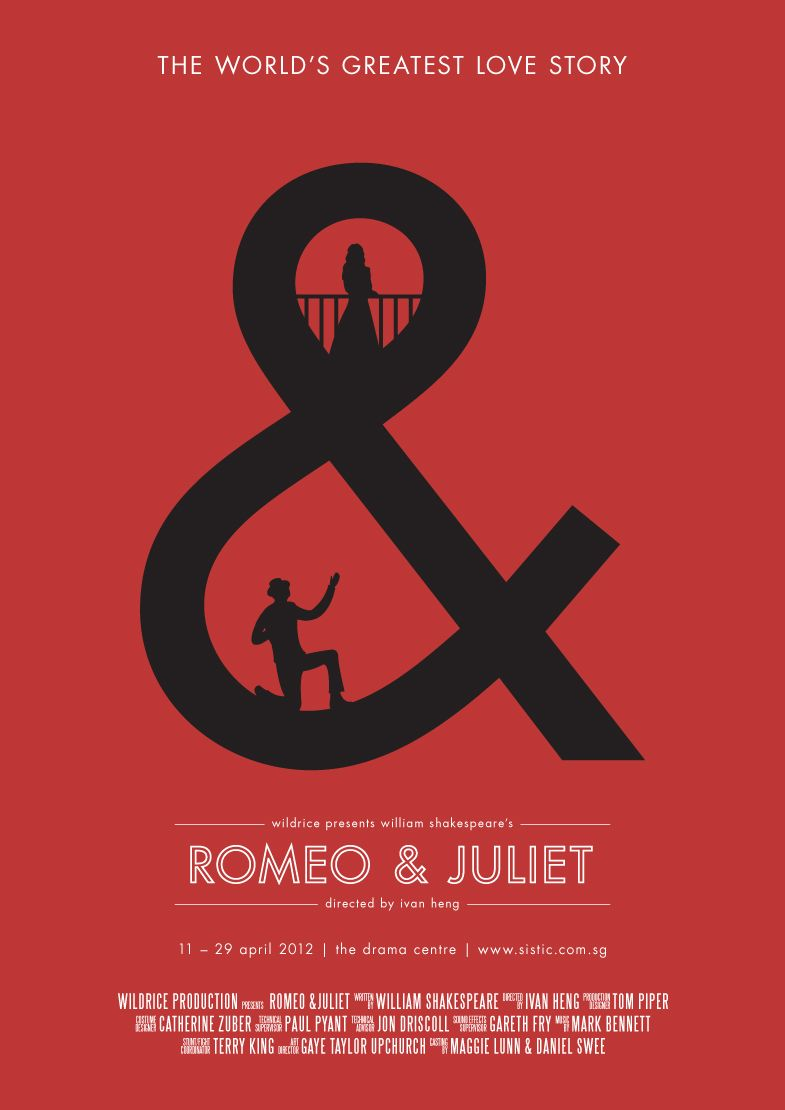 Romeo And Juliet Poster Illustration Version