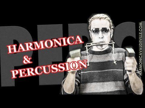 Harmonica et percussion HV - YouTube