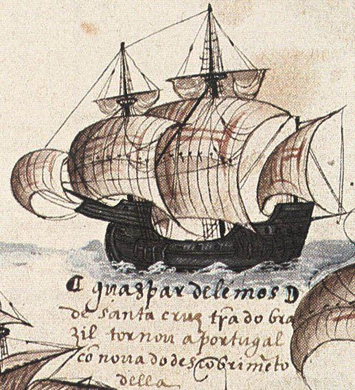 Portuguese Ship in the Battle of diu (1509)