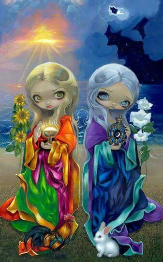 Jasmine Becket-Griffith SIGNED set of 3 art prints Milagros La Luna Calavera