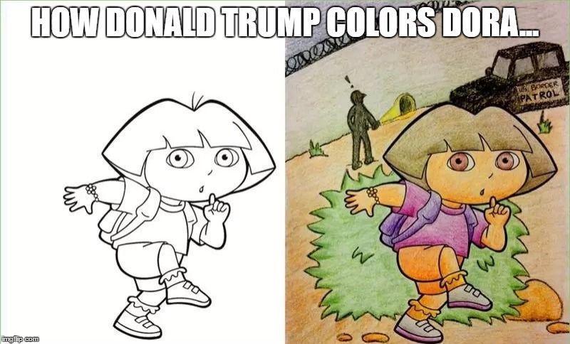 1jb9fe Jpg 800 484 Corrupt Coloring Book Dora Funny Coloring Books