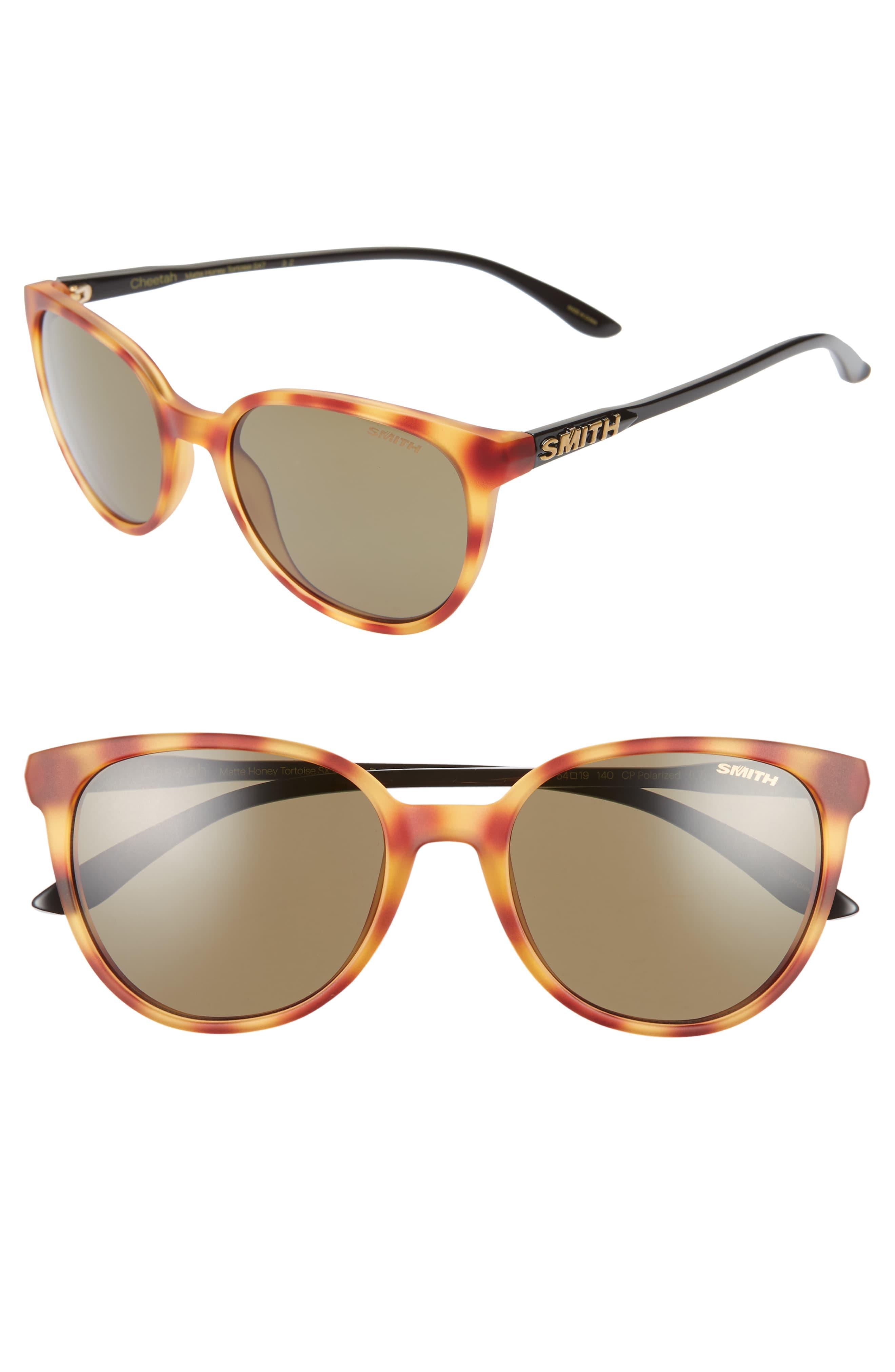 28edcd2bc Women's Smith Cheetah 53Mm Chromapop™ Polarized Sunglasses - Honey Tortoise/  Grey Green