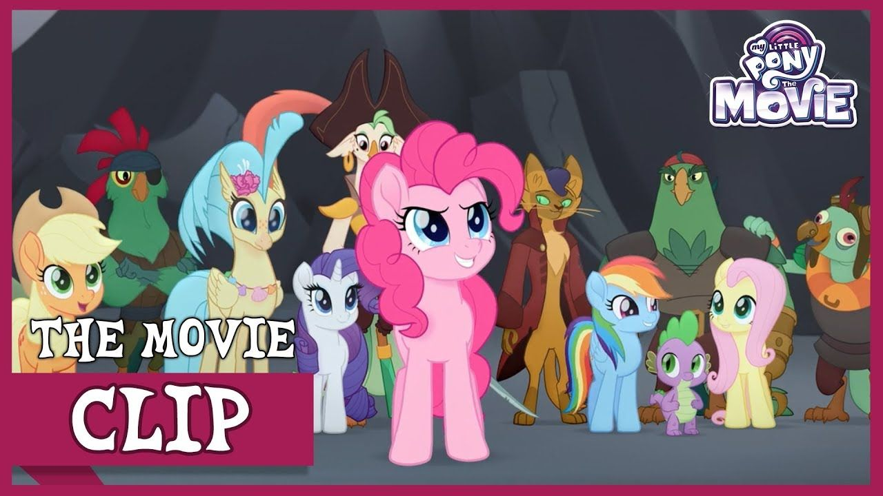Capper, The Pirates and Skystar Join The Ponies For Battle | My Little P...