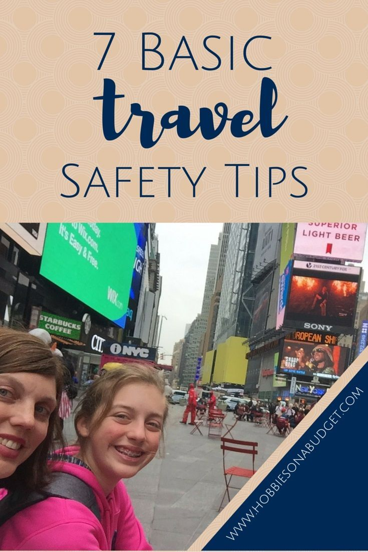 Heading out on summer vacation?  Don't miss these travel safety tips!