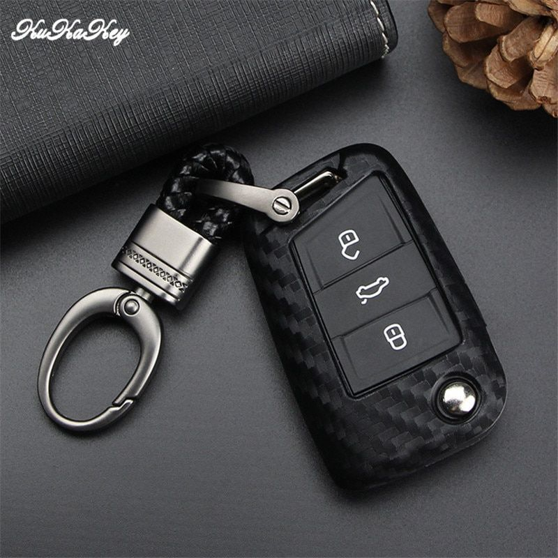 2016 Fashion Men Leather Key Chain Ring Keyfob Car Keyring Keychain Gift New RI