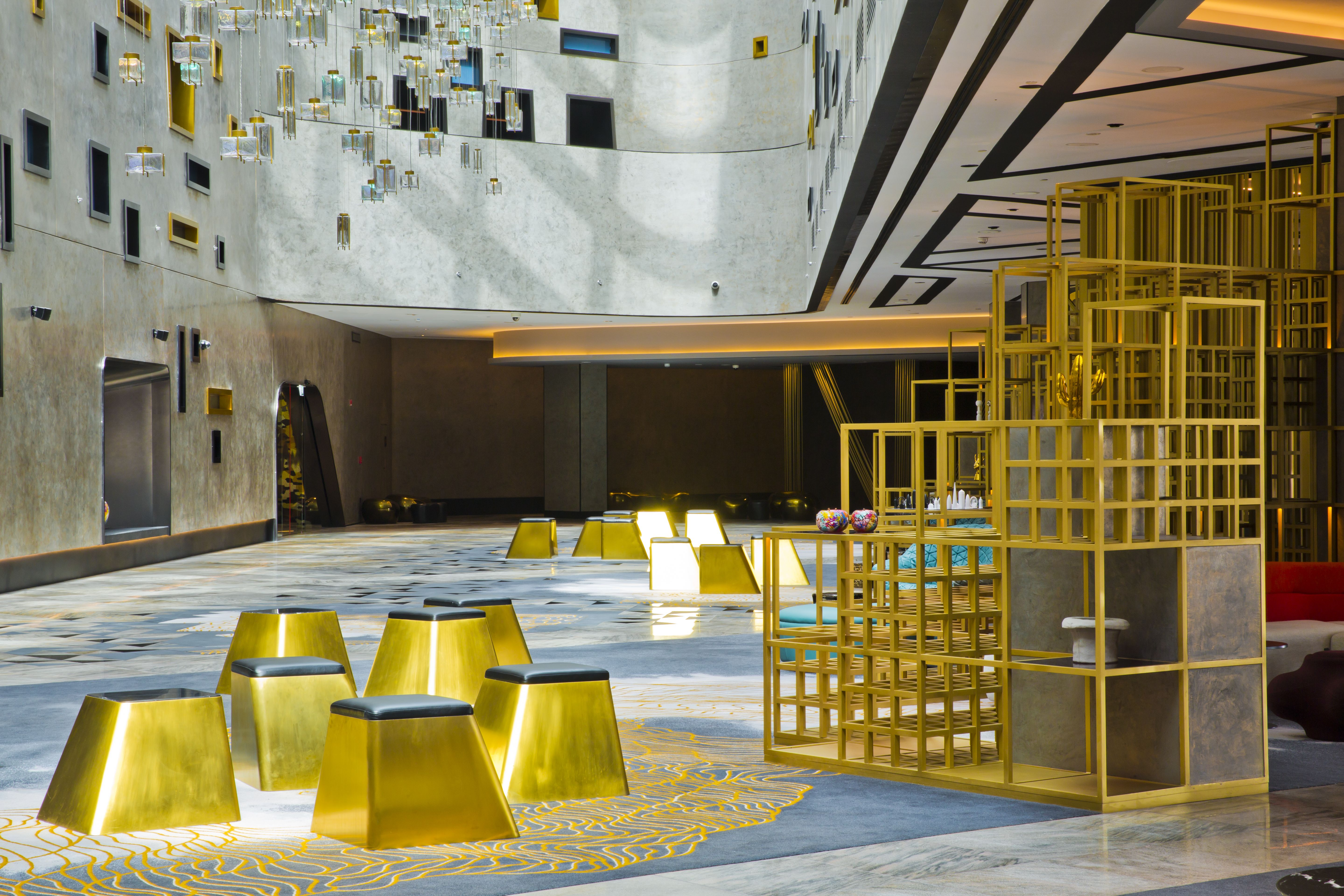 First look inside the W Dubai hotel designed by dwp - Projects, W