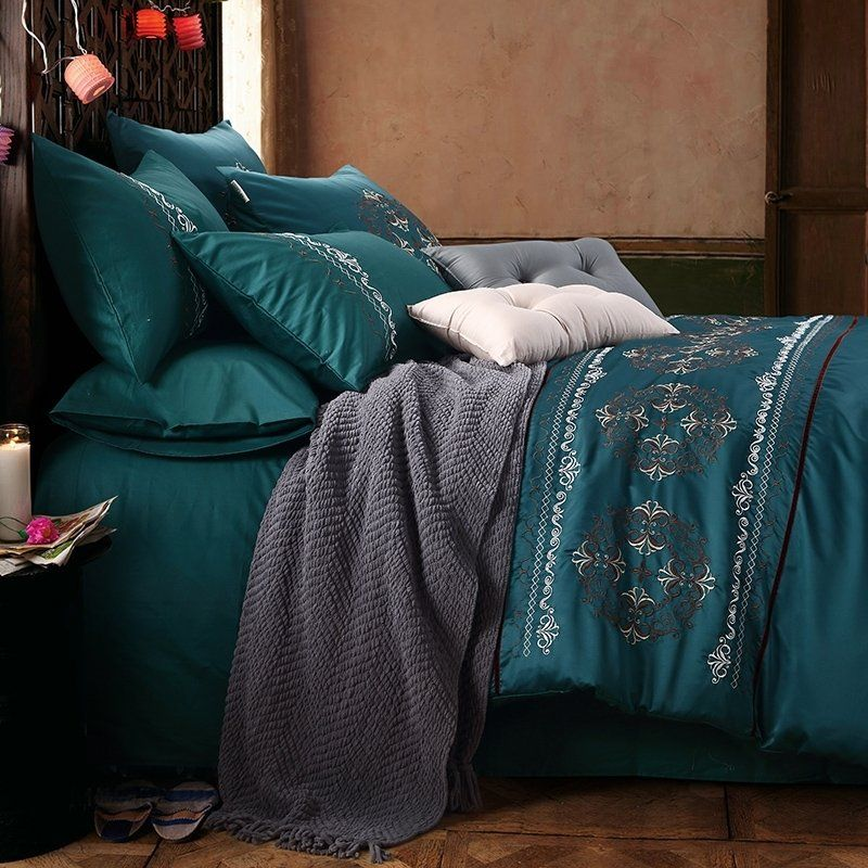 Chocolate And Teal Bedding Bedspread Bedroom Sets Teal Bedding Sets Teal Bedding Bedding Sets