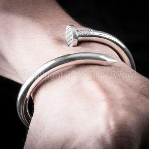 Heavy Nail Bracelet