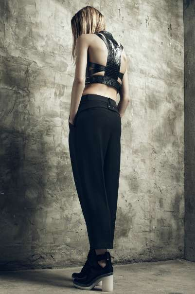 Refined Simplicity Lookbooks -  The Alexander Wang Resort 2013 is Effortlessly Cool #alexanderwang #fashion #artdesign