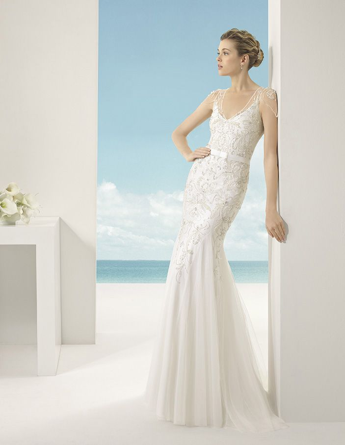 Vanessa by Soft by Rosa Clara http://www.knutsfordweddinggallery.co ...
