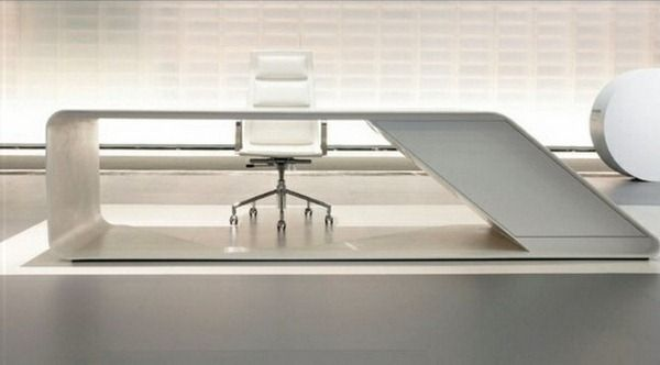 ultra modern office furniture. Ultra Modern High Gloss White Furniture Office Table Mirror E