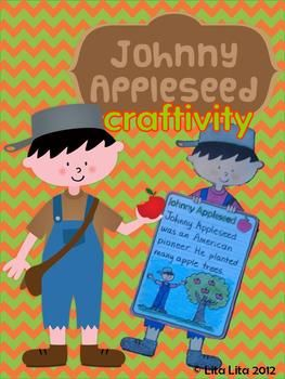 Johnny Appleseed writing craftivity  summer--rd johnny appleseed, craft, odyssey