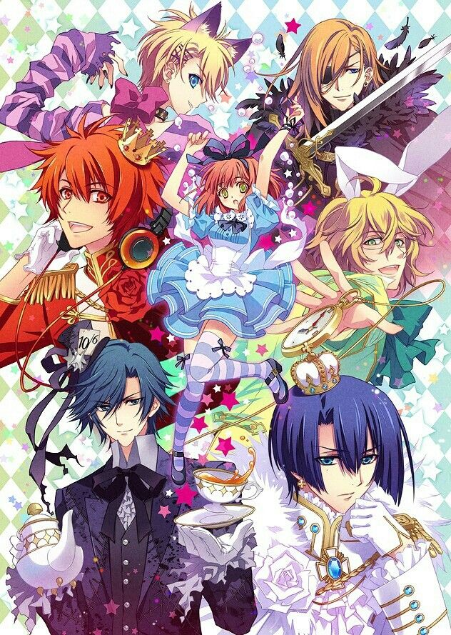 Uta no Prince Sama : I love alice in wonderland ^^ I find it funny , most anime's do have a alice and wonderland them some time or later on in it anime life .