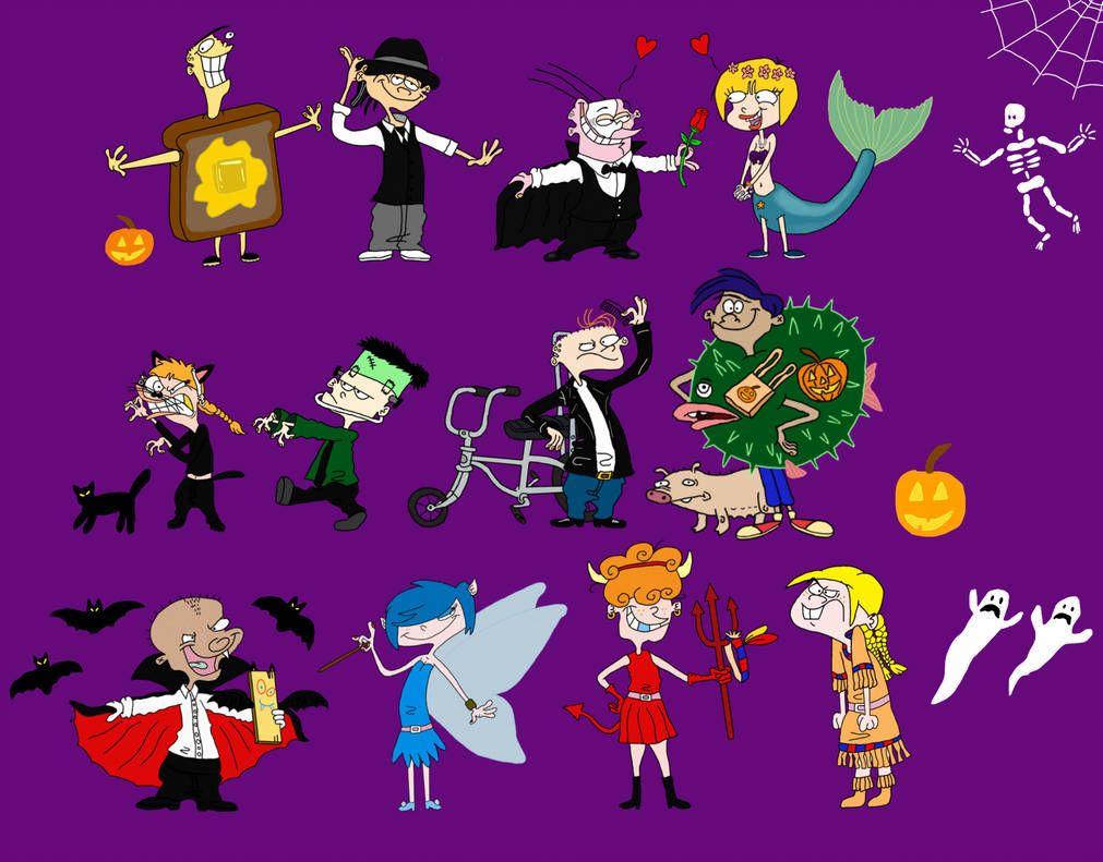 Ed Edd N Eddy Halloween By Trefrex Ed Edd N Eddy Ed Edd Edd
