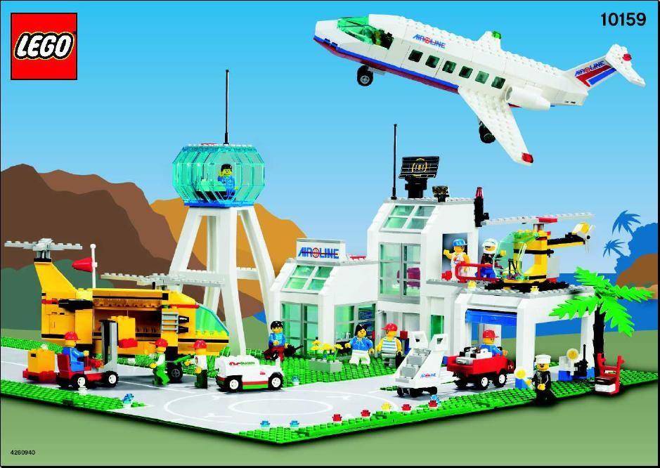 City City Airport Lego 10159 Lego Pinterest City Airport