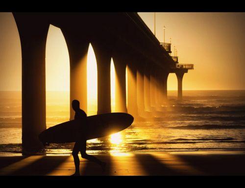 Sunsurfer Christchurch New Brighton Beach Surfing