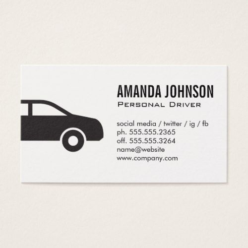 Driver Business Card Zazzle Com In 2020 Driver Card Business Cards Pamphlet Design