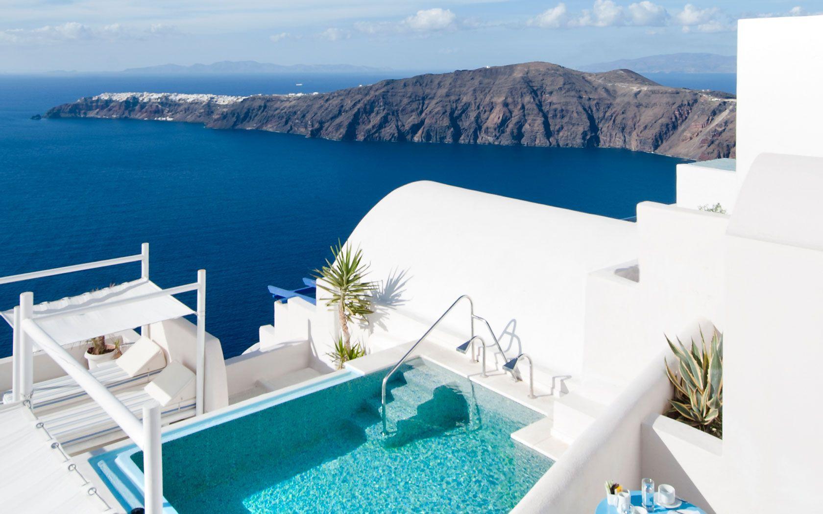 Santorini Apartments Andromeda Villas Hotel In Self Catering For Rent Accommodation Imerovigli