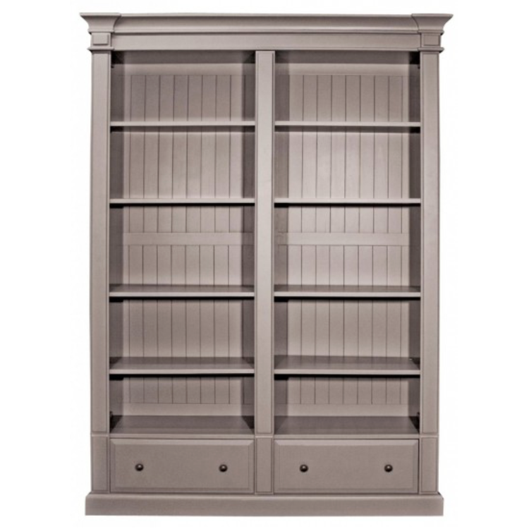 Sophisticated Double 2 Drawer Bookcase – Allissias Attic & Vintage French Style