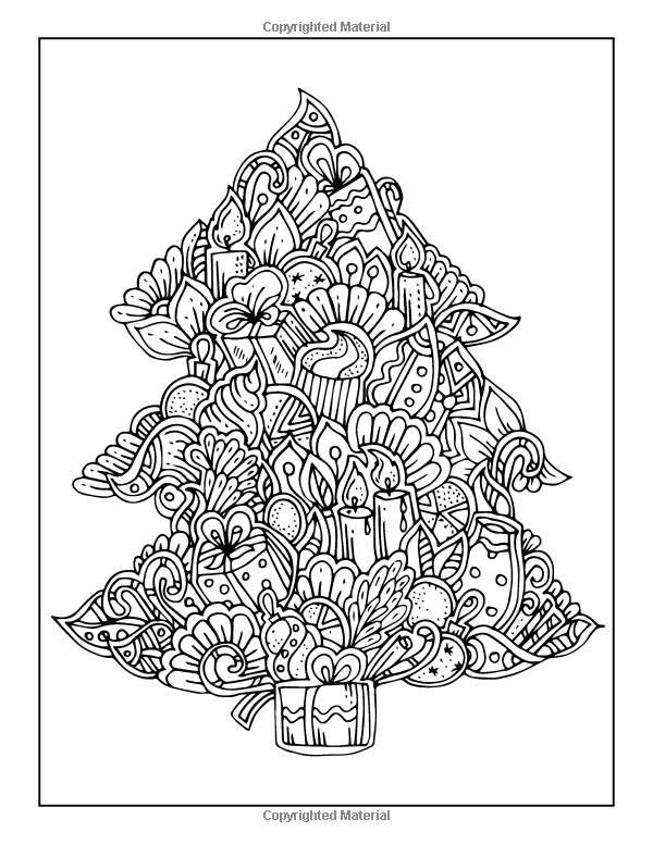 amazoncom adult coloring book the big book of christmas 55 holiday
