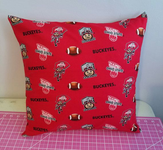 16 X Ohio State Pillow Cover Buckeye Case