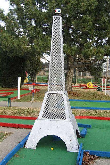 Fun Acre Mini Golf Eiffel Tower Mini Golf Putt Putt Mini Golf Miniature Golf