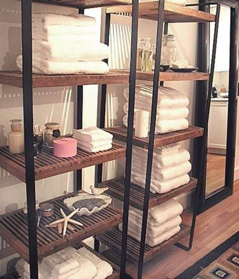 38 Stylish Bath Towel Storage Racks Ideas in 2020 | Bath ...