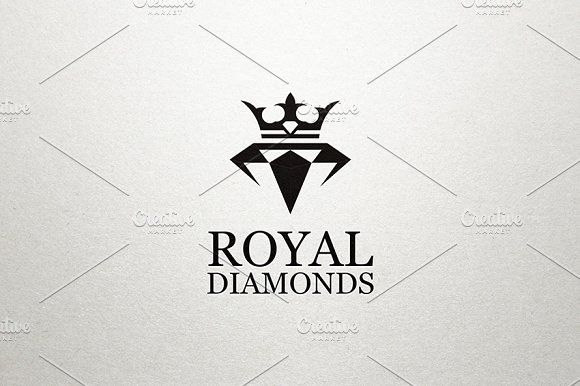 Royal Diamond Logo | More Diamond logo, Logos and Business design ...
