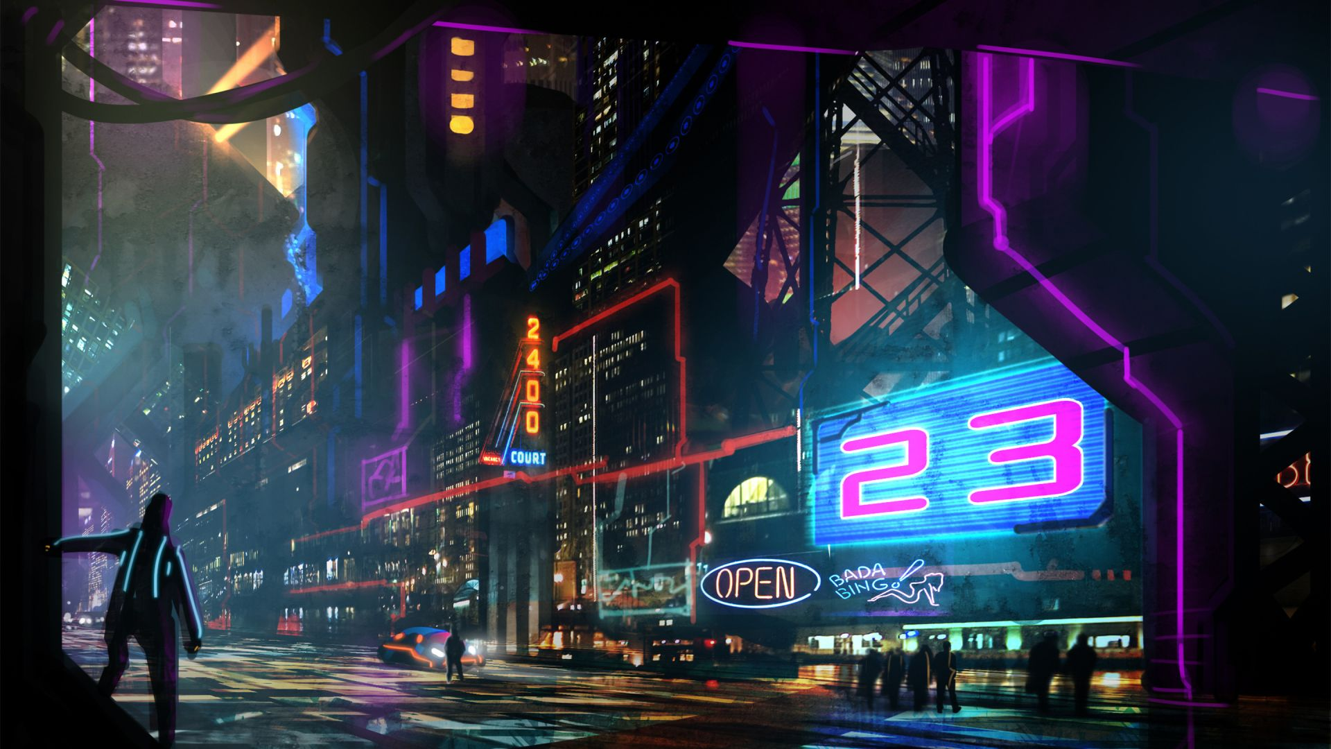 Cyberpunk Ish Wallpaper Dump 1080p With Images City