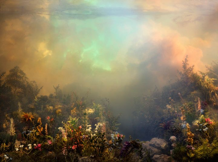 Kim Keever's Unusual Water Tank Diorama Photography