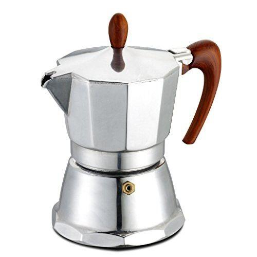 Gat Cafe Caffemagnifica 1 Cup Aluminium Stove Top Italian Espresso Coffee Maker