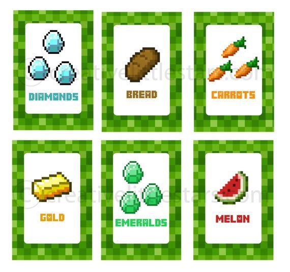 picture relating to Minecraft Food Labels Printable identify Cost-free Printable Minecraft Food items Tent Labels - Bing Photos