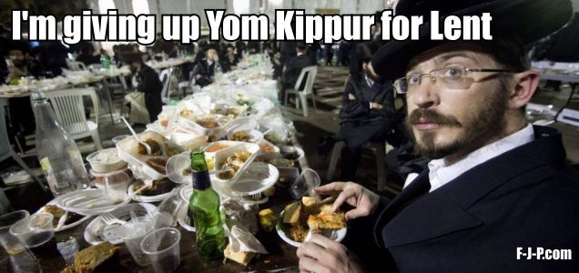 Funny Jew Yom Kippur Lent Meme Joke Picture Pictures Trestle Tablejewish Weddingsamazing