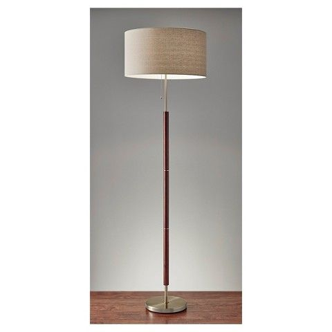 Adesso hamilton floor lamp brown floor lamp living rooms and 13500 dimensions 65500h x 19000w x 19000d adesso hamilton floor lamp mozeypictures Image collections
