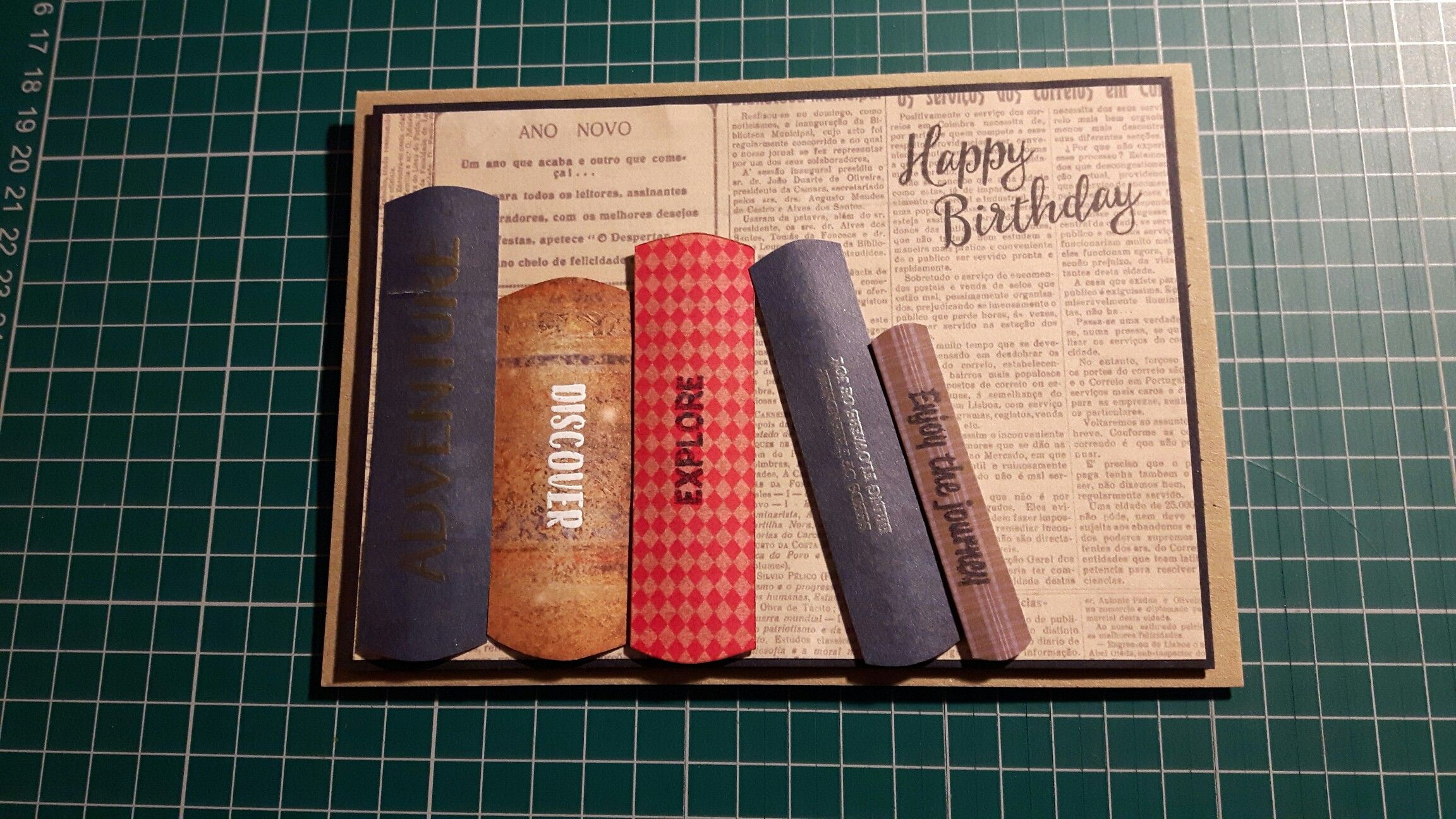 Birthday card for a book lover birthday book happy