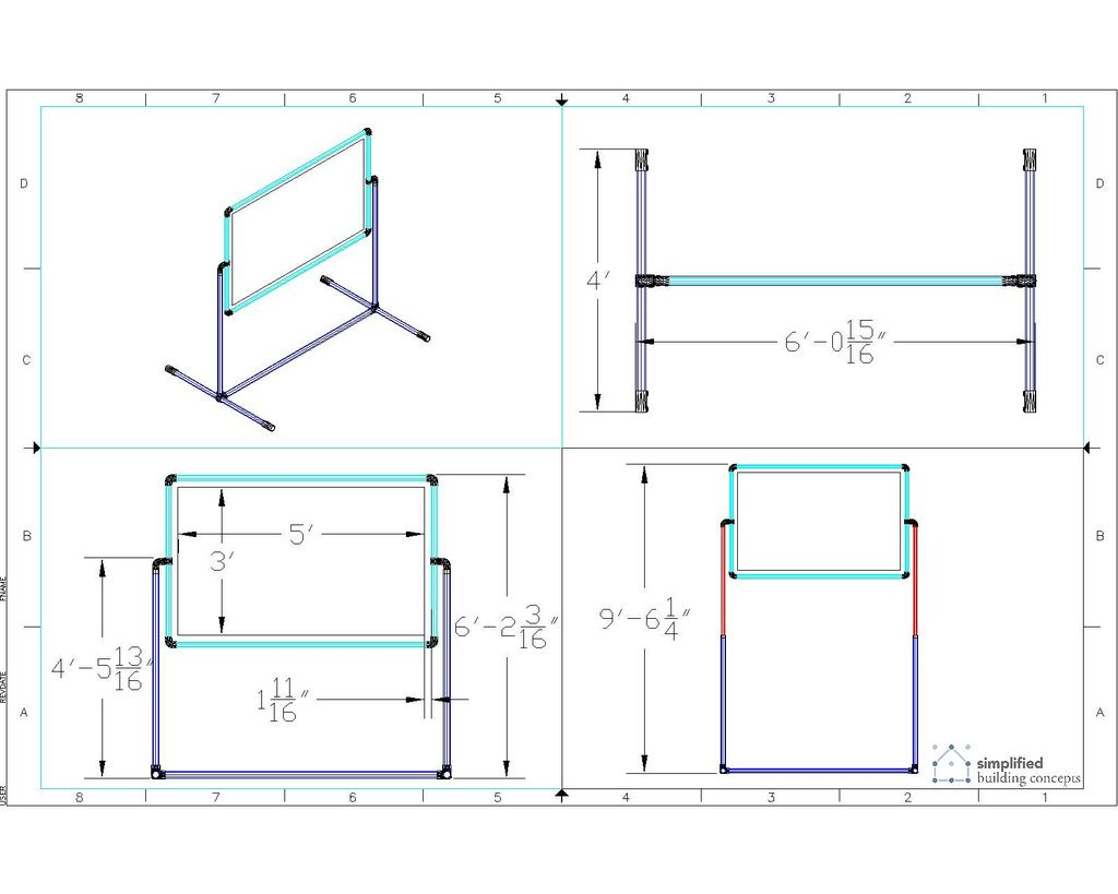 Instructions On How To Build A Portable Projector Screen Stand