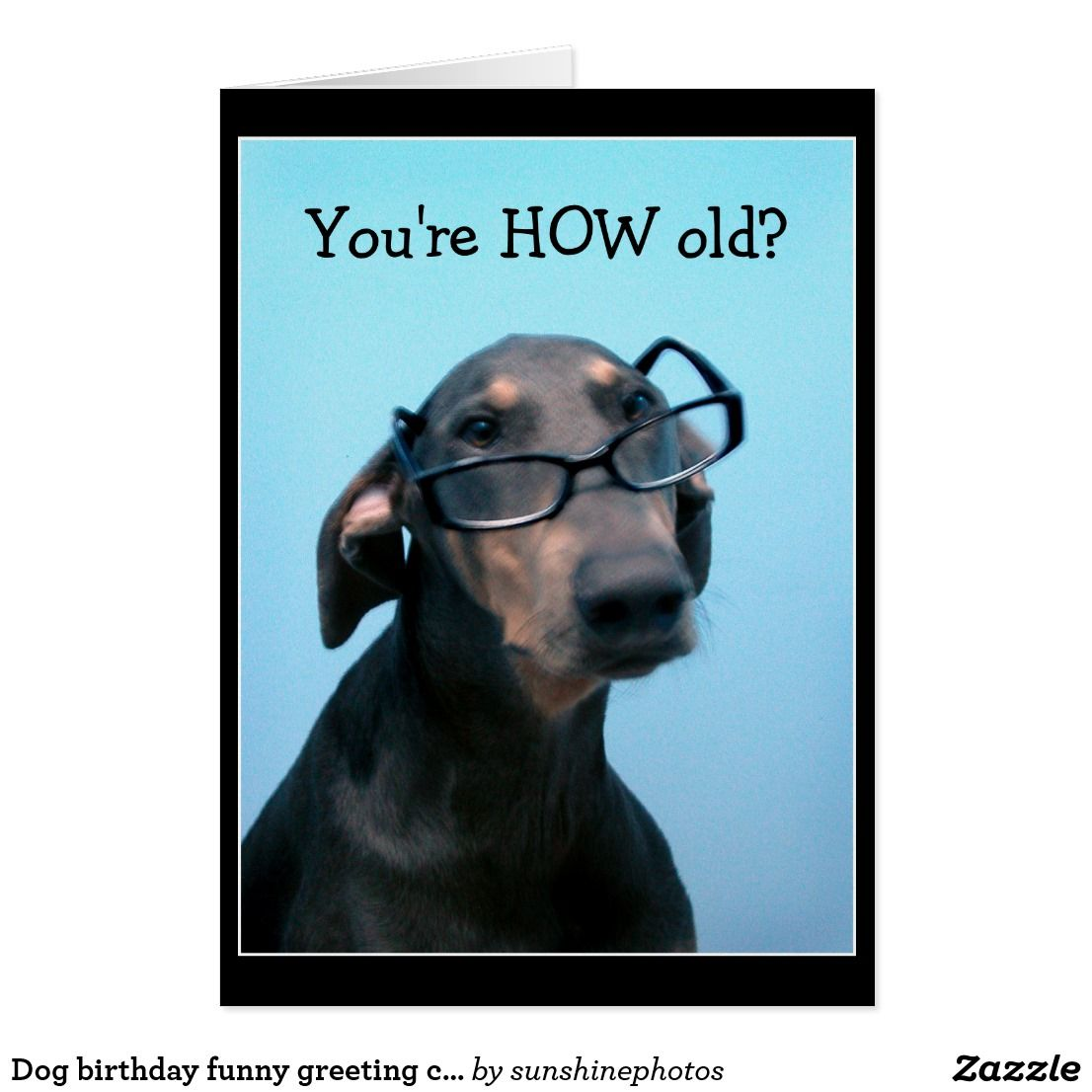 Dog birthday funny greeting card dog birthday birthday funnies dog birthday funny greeting card kristyandbryce Choice Image