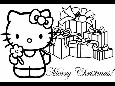 Christmas Coloring Book Game For Kids First Start Gameplay Review Mac Stor Hello Kitty Colouring Pages Hello Kitty Coloring Merry Christmas Coloring Pages