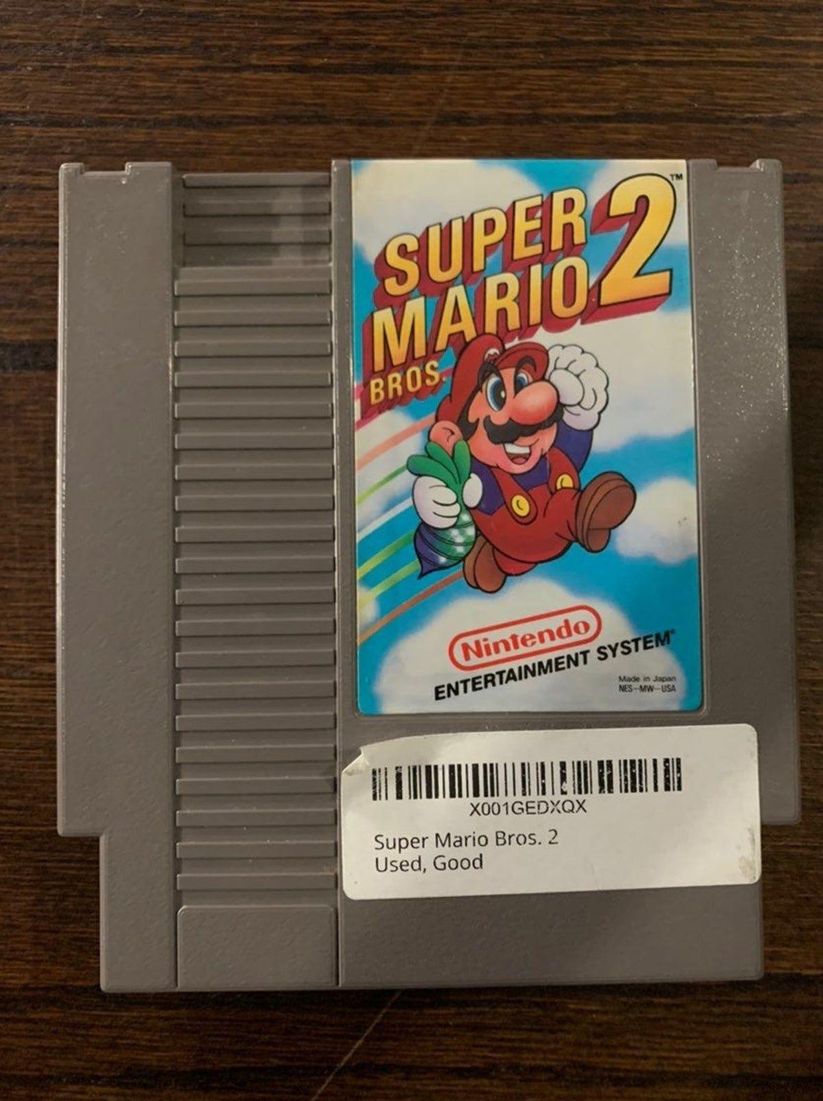 Super Mario Bros 2 Game In 2020 Super Mario Bros Mario Bros Nintendo Nes