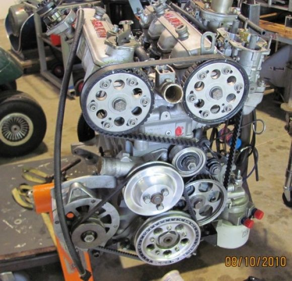 fiat 124 двигатель фото