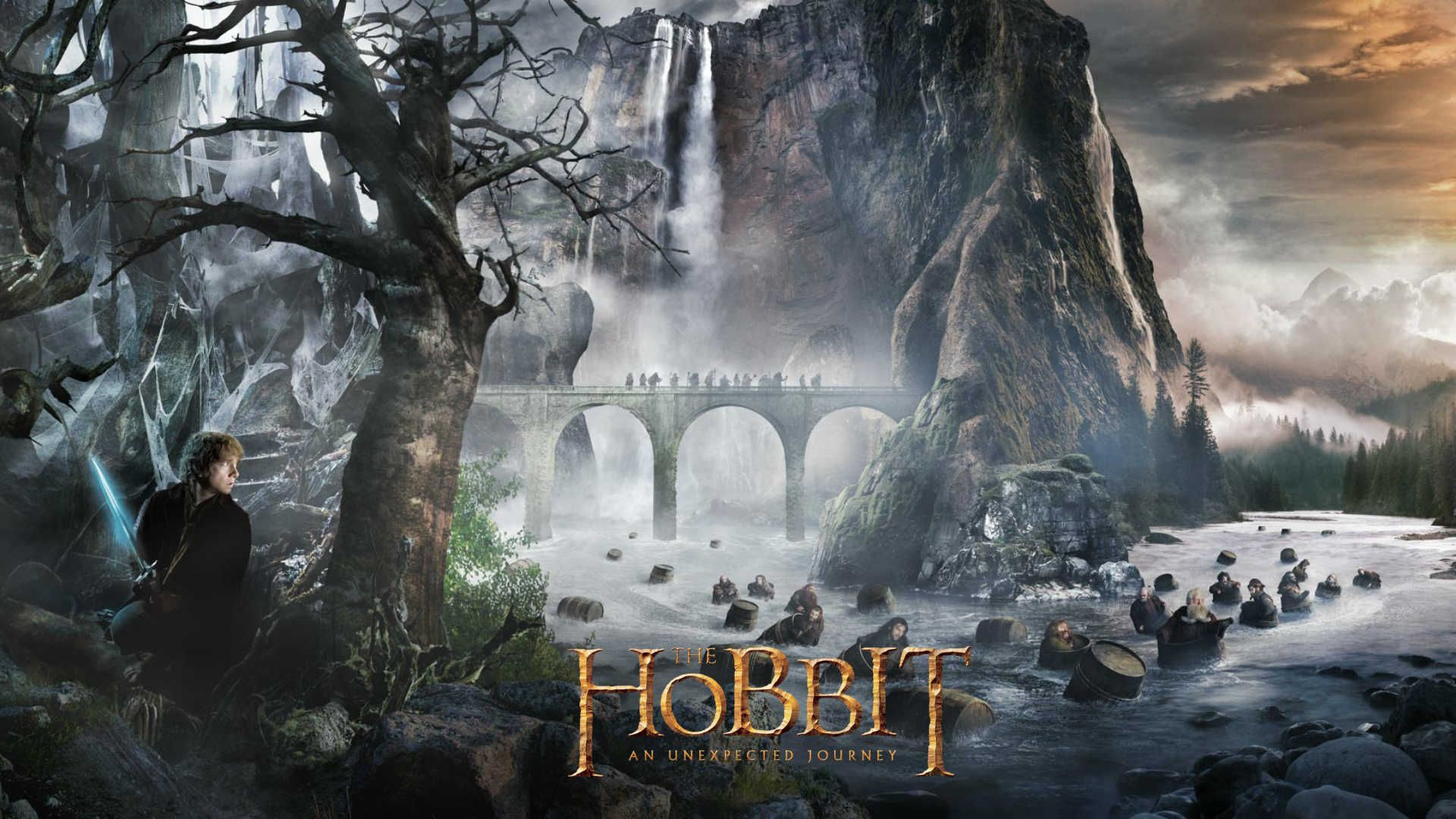 I Can T Wait That Scene With The Dwarves In The Water Hobbit Herr Der Ringe