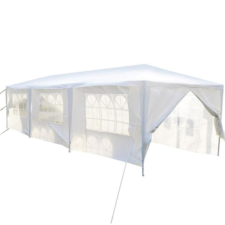 30 X 10 Ft Outdoor Party Canopy Tent With 8 Walls With Images Party Canopy Canopy Tent Tent