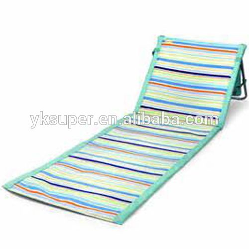 New Arrival Folding Padded Beach Mat/beach Lounge Chairs Mat, View Beach Lounge  Chairs
