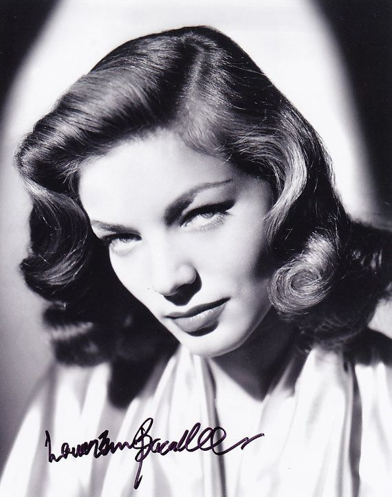 8x10 Authentic Lauren Bacall Signed Autographed Photo With Coa In