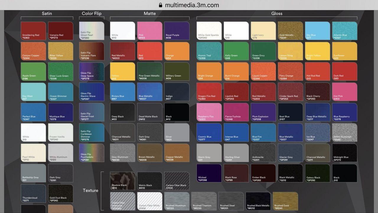 Where To Buy 3m Vinyl Wrap In 2020 Vinyl Wrap Colors Vinyl Wrap Custom Vinyl Lettering