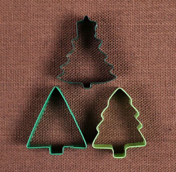 Christmas Cookie Cutters Assorted Christmas Trees COOKIE CUTTERS