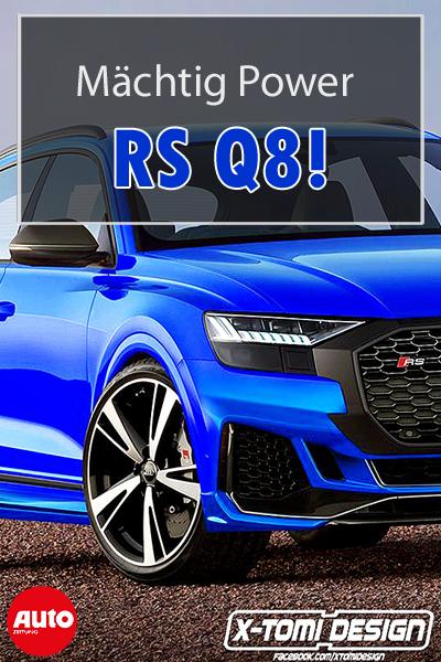 Audi Rs Q8 2020 Motor Ausstattung Autozeitung De Audi Rs Audi Autozeitung