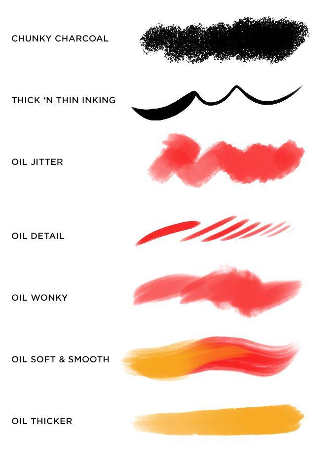 Kyle T Webster Megapack brush swatches   Graphic Design ...
