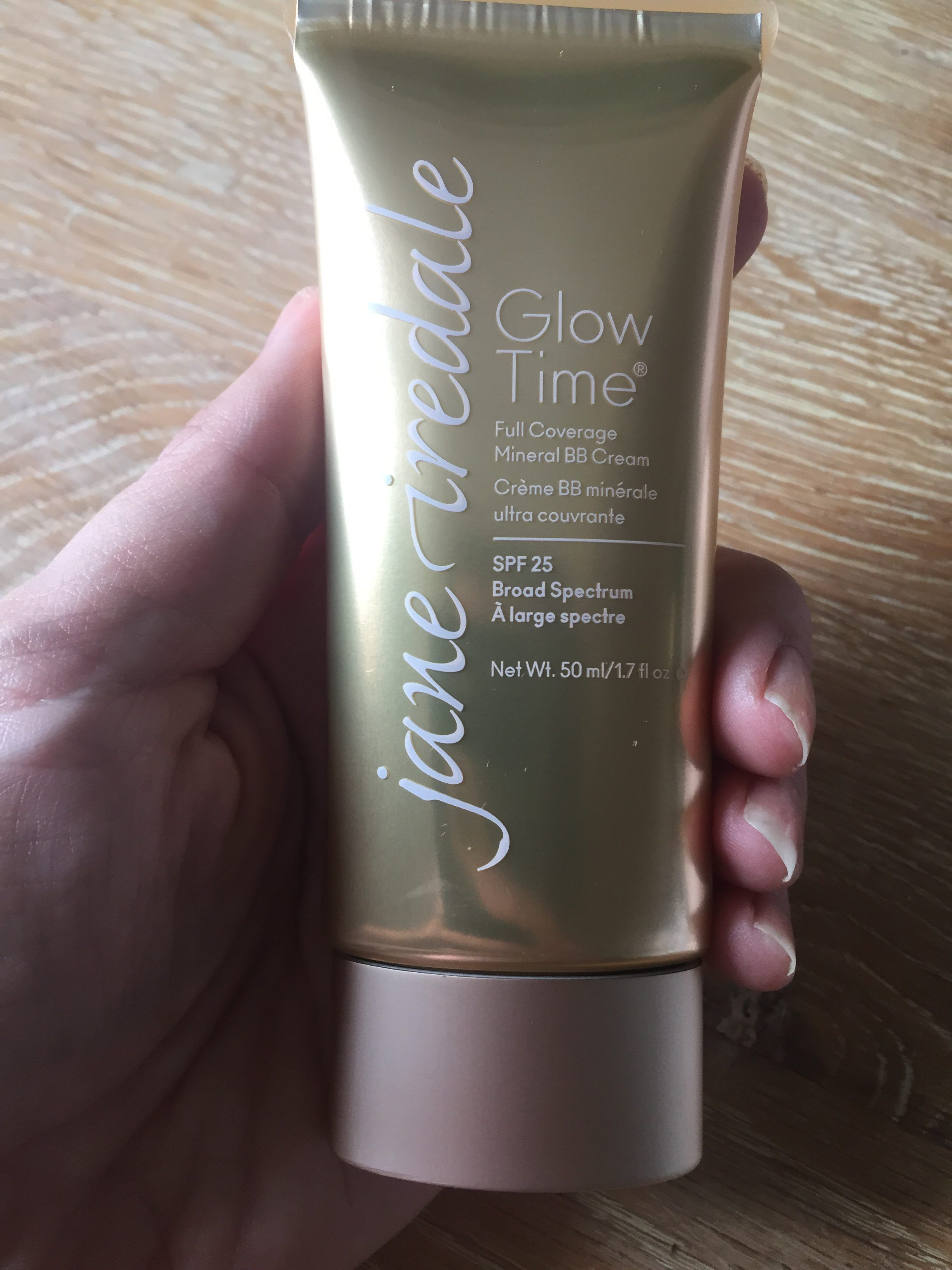 Glow Time BB Cream by Jane Iredale Review (Full Coverage